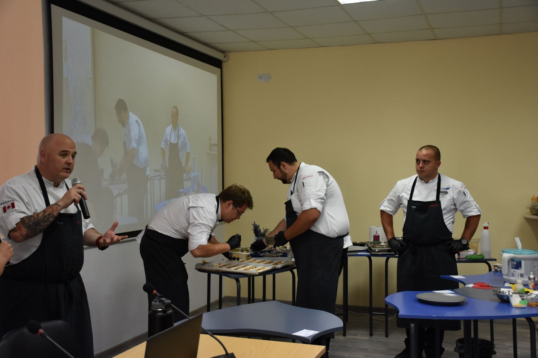 Culinary Arts demonstration by CAI chefs